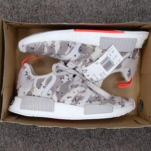 39b0e2b7f adidas Shoes - adidas Originals NMD R1 Camo Chalk White Solar Red